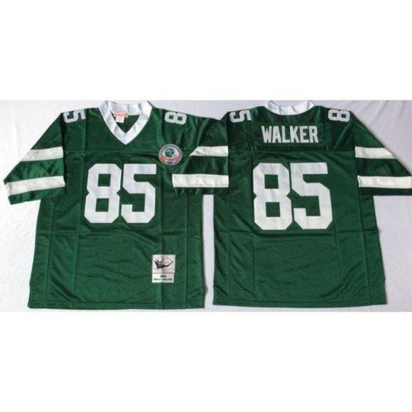 New York Jets Wesley Walker Green Jersey